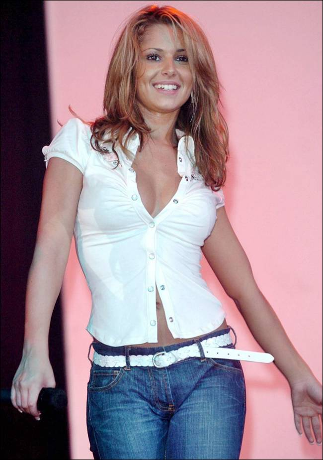 Cheryl Tweedy at Mercia FM Charity Concert