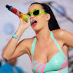 Katy Perry Performs for VW Jetta in Times Square
