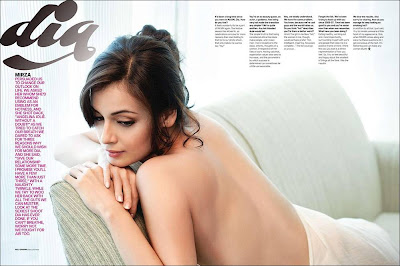 Gorgeous Dia Mirza | Eye Catching Shoot for Maxim India