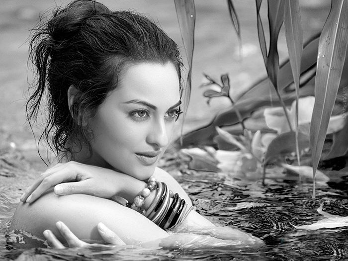 Pleasing Beauty  Sonakshi Sinha Gallery Photoshoot images