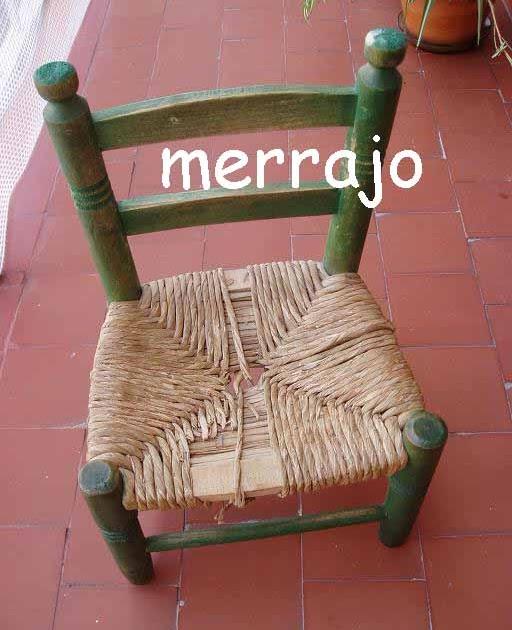 Manualidades merrajo yoli restaurar una silla de eneas - Una silla para ...