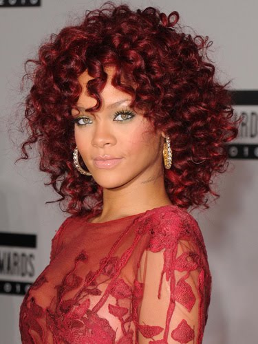 rihanna wig red. hairstyles rihanna red hair