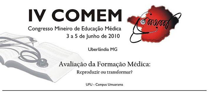 IV COMEM 2010 - Uberlândia/MG