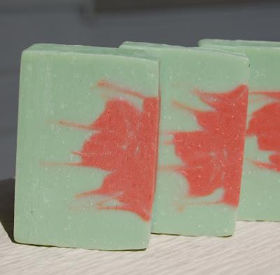 Rose Geranium Handmade Jovia Soap