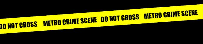 metro crime scene