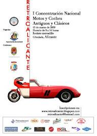 Cartel de RetroAlicante 2009