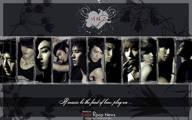 super junior wallpaper. [Download] Super Junior#39;s It#39;s