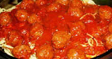 Linguini, Meatballs and Pomodoro Sauce