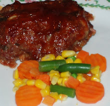Individual Meatloaf with caramelized onions and 3 different peppers
