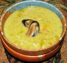 Saffron Mussel Soup
