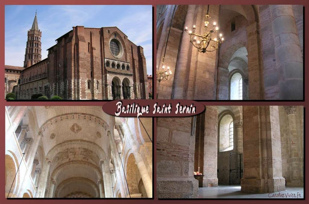 Basilique Saint Sernin à Toulouse