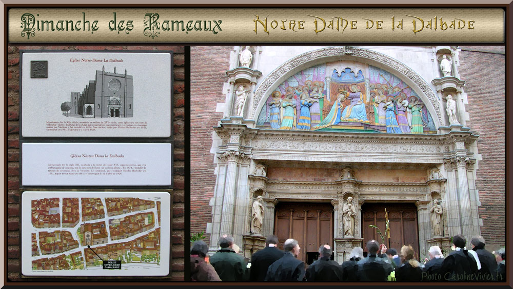Eglise Notre Dame de la Dalbade - Toulouse