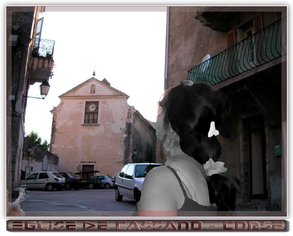 Eglise de CASSANO en Corse