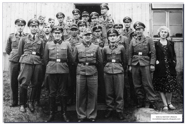Einsatzgruppen staff members group photograph