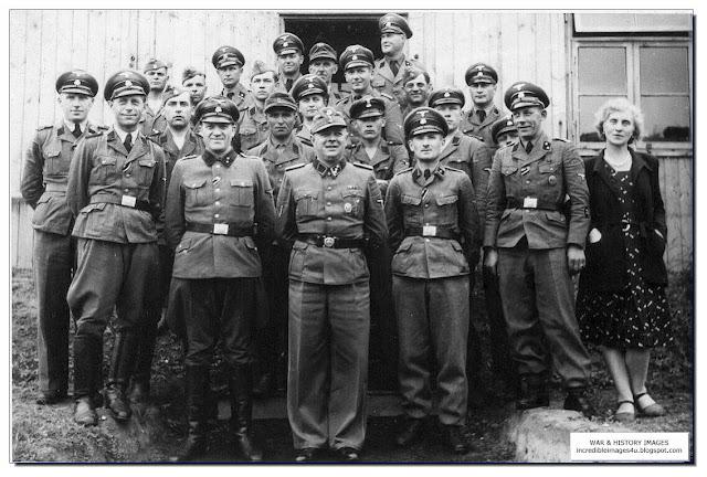 Einsatzgruppen staff members group photograph