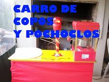 CARRO DE POCHOCLOS Y COPOS DE AZUCAR