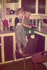 The Original Blondes in the Kitchen
