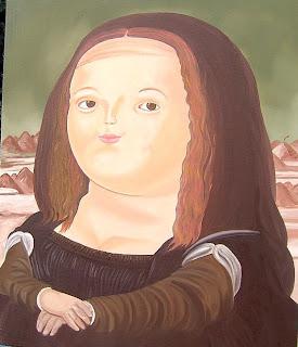Monna Lisa - Fernando Botero
