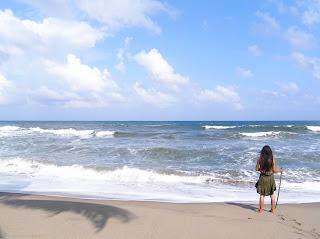 La mujer ciega que descubrió el mar