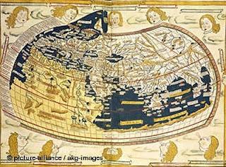 Mapamundi de Claudio Ptolomeo
