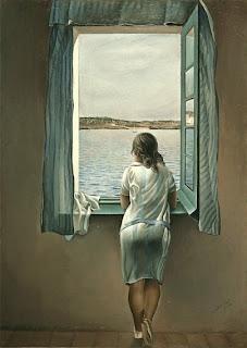 Muchacha en la ventana - Salvador Dalí