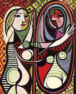 Niña frente al espejo - Pablo Picasso