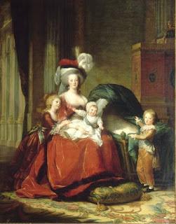 María Antonieta y sus hijos - Elisabeth Louise Vigée