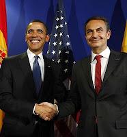 Obama a Zapatero: 'Estoy contento de poder llamarle amigo'