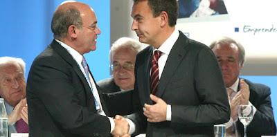 Díaz Ferrán y Rodríguez Zapatero