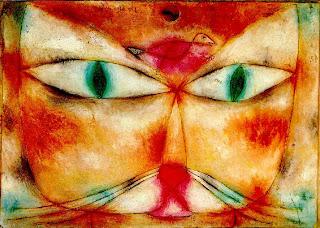 Gato y pájaro - Paul Klee