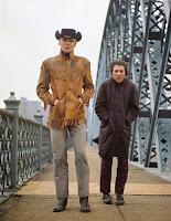 Fotograma de 'Midnight Cowboy', con Jon Voight y Dustin Hoffman