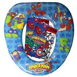 spider man friends kids toilet seat an actual product