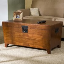 Wooden Trunk Cocktail Table