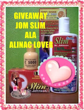 ":: GIVEAWAY ""JOM SLIM ALA ALINAC LOVER"" :: Share"