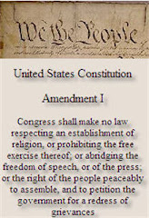 US Constitution - 1st Amendment