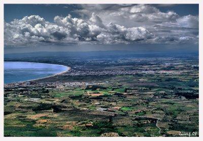 Bahía de Rosas desde Sant salvador