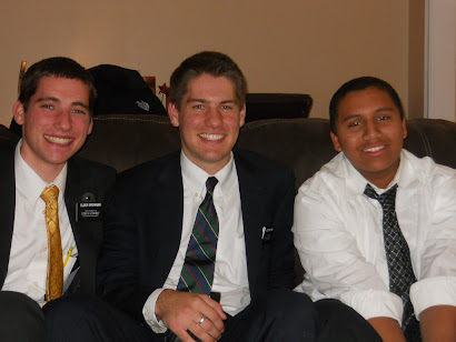 Elder Browning's first baptism