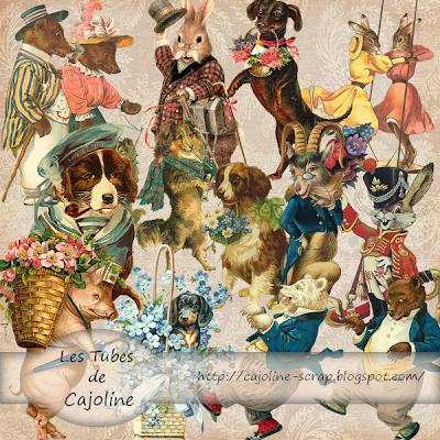 http://cajoline-scrap.blogspot.com/2009/10/freebie-12-tubes-psp-animaux.html