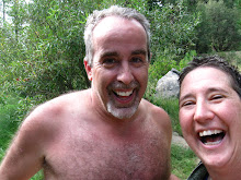 D and Me self portrait after a dip in the river!