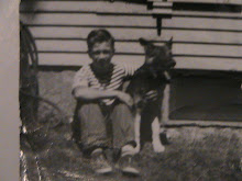 uncle d and ladie, the dog