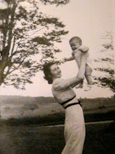 my mother being held by her mother
