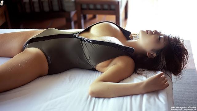 Yoko Matsugane Hot Pose