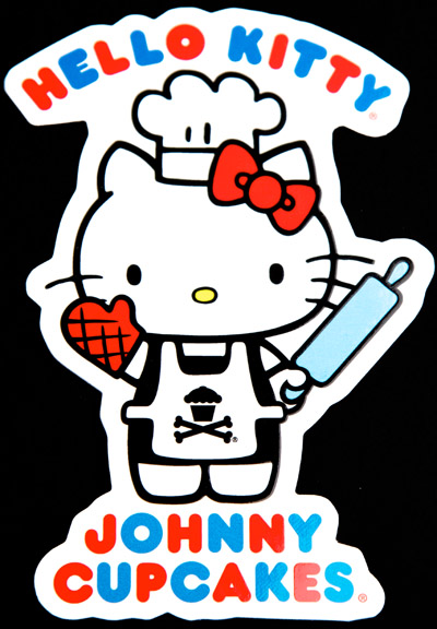 Johnny Cupcakes Meets Hello Kitty