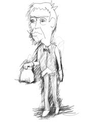 paper bag waiter