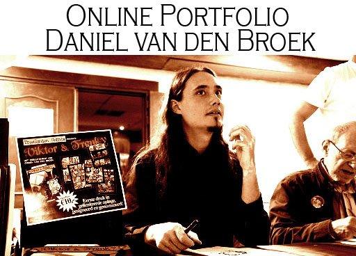 Online portfolio Daniel van den Broek