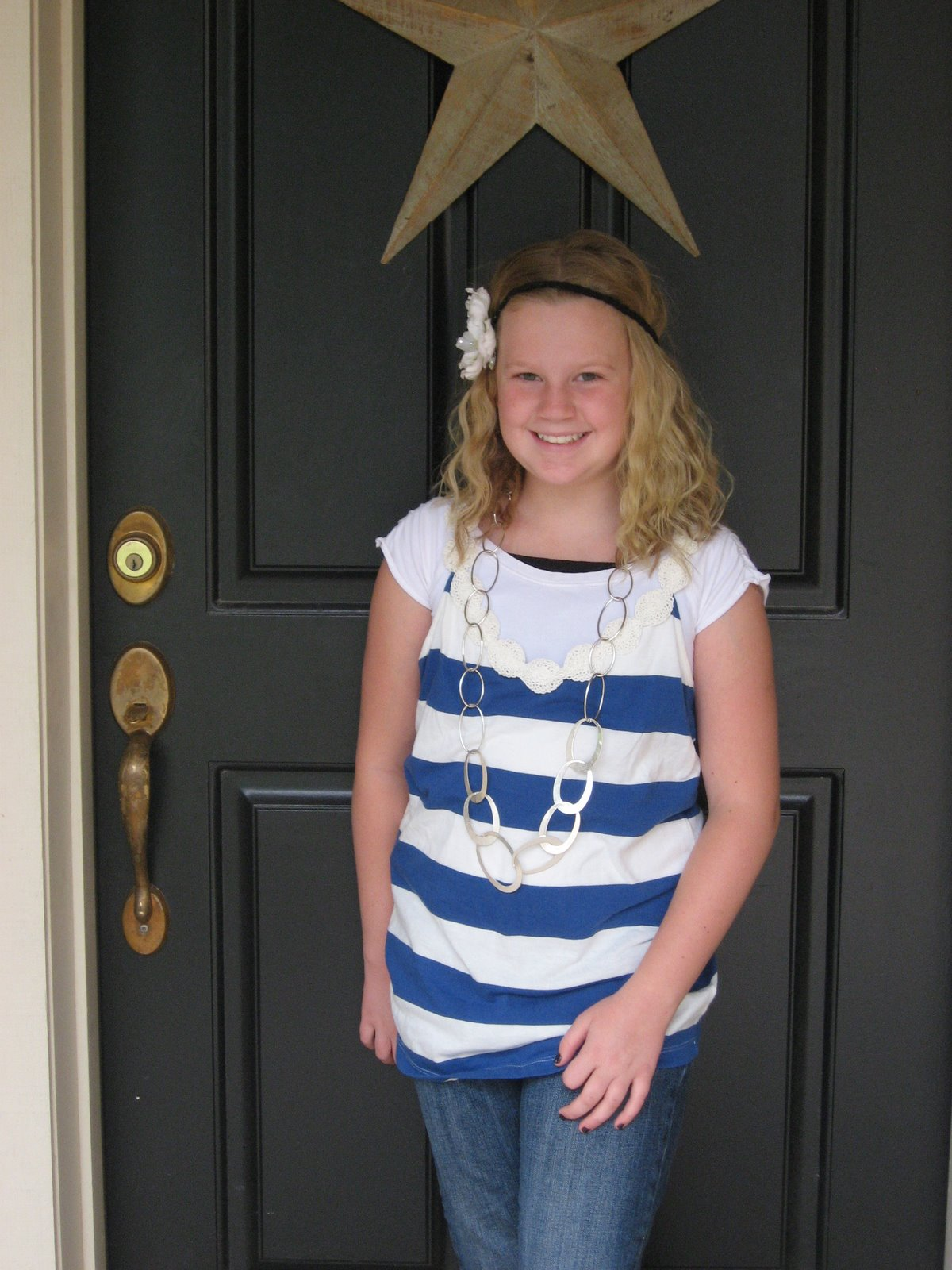 Ashley is headin to 4th grade!