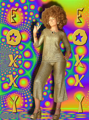 Either way there is a right an a wrong way to morph yourself into Foxxy Cleopatra and this golden photo over here is by far the wrong way no matter how ...  sc 1 st  Life In Hot Flashes! & Life In Hot Flashes!: October 2010