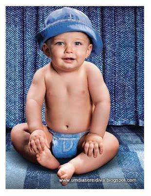 Bebê Fashion: de Fralda Jeans!