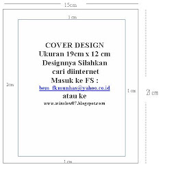 Ukuran kertas & Cover design