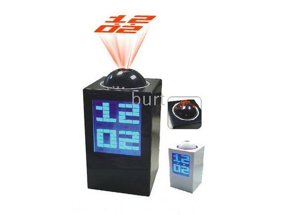 projection alarm clock The lcd projection clock is an excellent alarm clock that displays the time and room temperature on a wall or ceiling backlit lcd display displays time, alarm time.